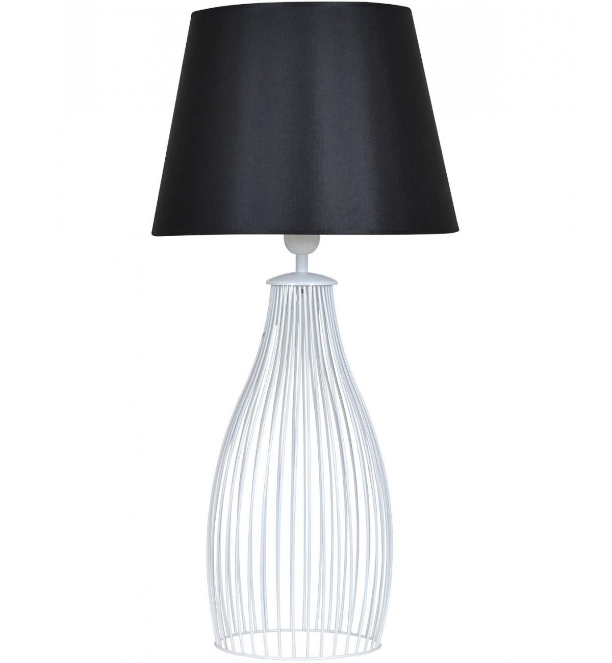 lampa nocna z abazurem nowoczesna stojaca 1