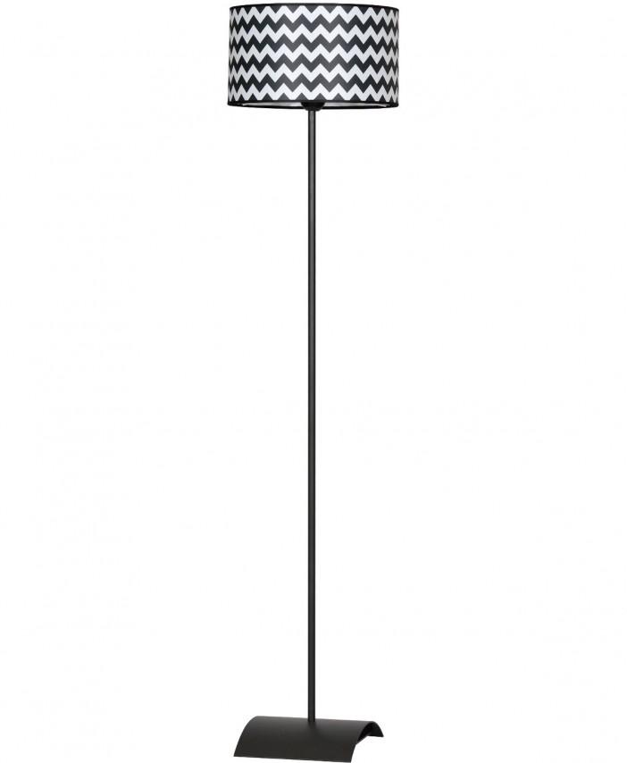 lampa stojaca z abazurem
