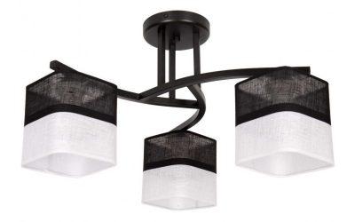 lampa wiszaca zyrandol z abazurem 400x250